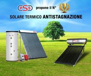 Impianto solare termico antistagnazione