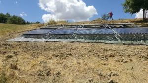 Impianto solare per piscina