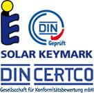 pannelli solari certificati solar keymark