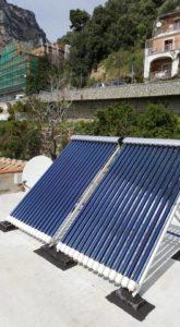 positano impianto solare termico
