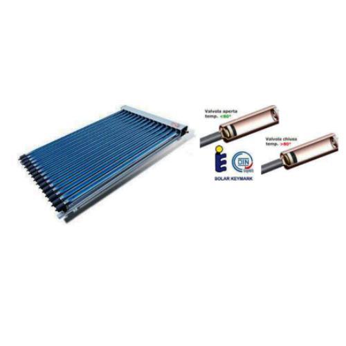 Collettore solare pressurizzato c/20 tubi HP (Anti-Stagnazione)con riflettori
