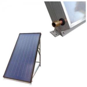 Collettore solare piano vetrato separato