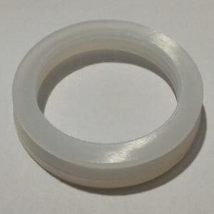 Guarnizione in silicone per tappo di chiusura serbatoio non in press.