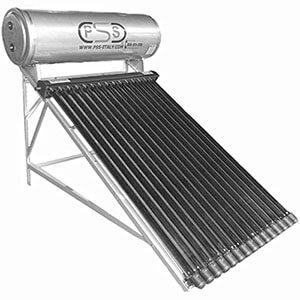 pannello solare circolazione naturale tubi heat pipe