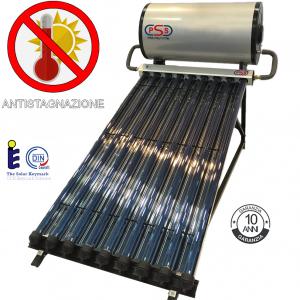 Pannello solare 200 litri in press.15 tubi HP c/riflettori (Anti-Stagnazione)